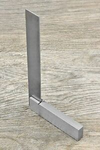 """6"""" Machinist Steel Square Design Layout 90° Angle for Hobby Crafts Model Jewelry"""