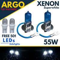 H3 Xenon Super White 55w Headlight 453 Fog Bulbs Hid 12v Led 501 Side Light 12v