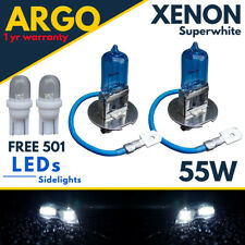 H3 Xenón Muy Blanco 55w Faro 453 Niebla Bombilla Hid 12v LED 501 Luz Lateral 12v