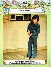 PUBLICITE ADVERTISING 055  1973  Jean le Bourget vetements enfant garçon
