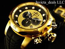 NEW Invicta Men's 52mm Venom Sea Dragon Swiss Chronograph Gold Rope Dial Watch