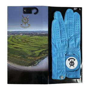 G FORE x St.Andrew Links Men's Golf Glove LEFT HAND Leather (S M M/L L XL) RARE!