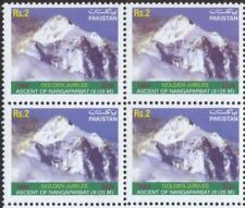 "Pakistan 2003 ""Golden Jubilee of 1st ascent of Nanga Parbat 1953-2003"" Block 4"