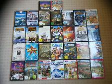 PC Spielesammlung über 30 Games für Sammler Anno 1800 Sims Sacred WoW DVD´s CDs