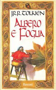 LN- ALBERO E FOGLIA - TOLKIEN - RUSOCNI --- 1998 - B - ZFS127