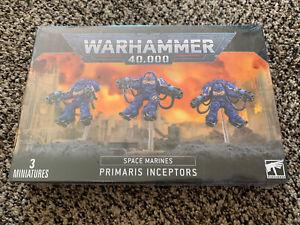 Primaris Inceptors Space Marine Warhammer 40K NIB