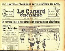 Le CANARD ENCHAINE numero 2105 du 22 fevrier 1961