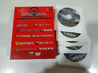 Pasion por el Automovil Historia Grandes Marcas Ferrari BMW Porsche 10 x DVD 3T