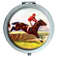 Cavallo da Corsa Sopra Ostacoli Specchio Compatto