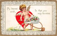 D39/ Valentine's Day Love Holiday Postcard New Petersburg Ohio  1912 Wishbone 4