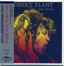 ROBERT PLANT MANIC NIRVANA CD MINI LP OBI Led Zeppelin Page and Plant rock new