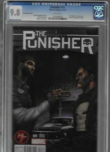 CGC 9.8 PUNISHER #11 Variant/H&F Exclusive Cover, Tim Duncan w/Concept Car-RARE!