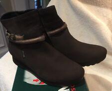 Mephisto Azzura Grey Bucksoft Boots Size 8M