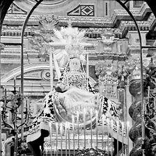 ESPAGNE c. 1951 -Virgen de las Angustias Grenade - Négatif 6 x 6 - Esp 108