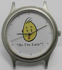 "Rare Unique - ""So I'm Late"" Swiss ETA Unisex Wrist Watch - York Base Co. LTD"