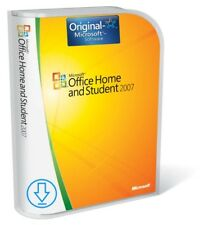 Microsoft Office 2007 Home and Student (Word, Excel, PowerPoint) Vollversion 1PC