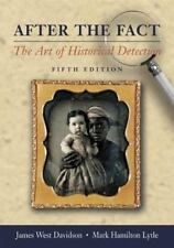 After the Fact:The Art of Historical Detection. CD-ROM. Book by Davidson & Lytle