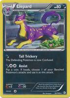 Liepard Holo Rare Pokemon Card BW Boundaries Crossed 91/149