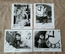 1985 Back to the Future movie press kit 4 different 8x10 B&W photos Spielberg