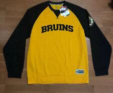 Boston Bruins Face Off Reebok Long Sleeve Shirt Speed Wick L NHL Tags Jersey