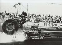 DON GARLITS HORRIBLE ACCIDENT AT LIONS 1970  NHRA     8x12  DRAG  RACING PHOTO