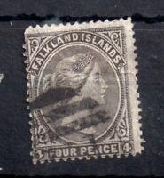 Falkland Islands QV 1882 4d fine used #6 WS12951