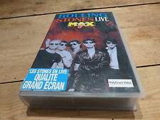 THE ROLLING STONES - LIVE AT THE MAX !!!!!!!!!!!!! EURO ONLY VIDEO!!!!!!!