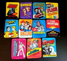 11-Assorted 1977-1981 Wax Pack Wrappers No Cards Wrappers Only