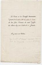 Comtesse de Ségur. Invitation de la Comtesse ROSTOPSINE.