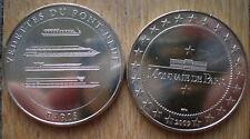 Monnaie de Paris Medal Vedettes du Pont Neuf 2009 France Boat Free Shipping Wrld