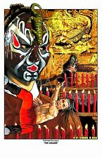 Five Deadly Venoms- The Lizard, Phillip Kwok Shaw Brothers kung fu art poster