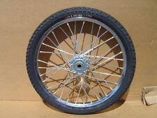 """Pair Horse Cart Wheels/Tires 20""""x2.125""""/5/8""""Axle, 3""""Hub"""