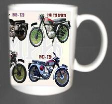 Triumph tiger cub t20 classique tasse de vélo édition limitée.