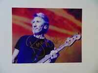 """""""Pink Floyd"""" Roger Waters Hand Signed 10X8 Color Photo Todd Mueller COA"""