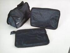 "Nylon 6.5x9.5"" Travel Cosmetic Bag Shaving Makeup Pouch Toiletry Case POB-NP"