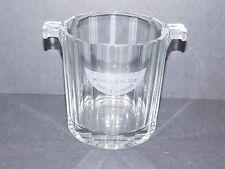 PETITE LIQUORELLE PETILLANTE PAR MOET & CHANDON GLASS ICE BUCKET c1980s