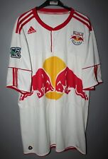 NEW YORK RED BULL FOOTBALL SHIRT JERSEY 2010 2011 HOME ADIDAS SIZE XL MLS SOCCER