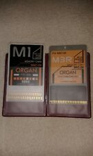 KORG DOPPIA CARD MSC-09 + RPC-09 ORGAN   X KORG M3R