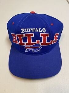 "Buffalo Bills Vintage STARTER NFL ""THE Natural"" STRAP BACK NWT SnapBack Rare New"