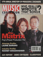 THE MATRIX - POP'S POWER PRODUCTION TRIO 2004 MUSIC CONNECTION Magazine