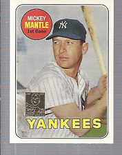 1996 Topps Mantle #19 Mickey Mantle/1969 Topps - NM-MT