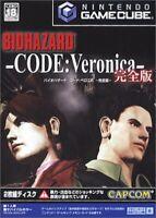 USED Nintendo Gamecube Resident Evil Code: Veronica 14867 JAPAN IMPORT