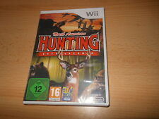 NORTH AMERICAN HUNTING EXTRAVAGANZA Nintendo Wii PAL NEW SEALED