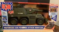 "2002 GI JOE Motorized Air Powered Attack Howitzer 19""  Electronic Tank #05239"