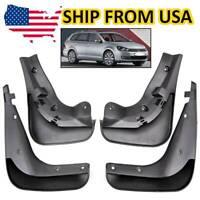 4Pcs Front Rear Mud Flaps Splash Guards For VW Golf MK6 Wagon Jetta Sportwagen