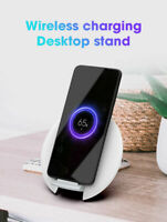 Qi Wireless Charger Fast Charging Pad For iPhone 11 8 X XS XR Galaxy S8 S9 S10
