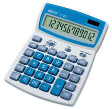 Tischrechner ibico 212X - 12-stellig LCD-Display -Solar-/Batteriebetrieb 180-611