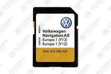 VOLKSWAGEN Navigation AS EUROPA 1 2019-2020 Discover Media 2 SD Card MIB2 V12!