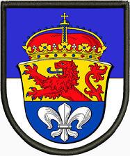 Wappen von Darmstadt  Patch, Aufnäher, Pin, PREMIUM Aufnäher