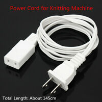US Plug Power Cord For Brother Electronic Knitting Machine